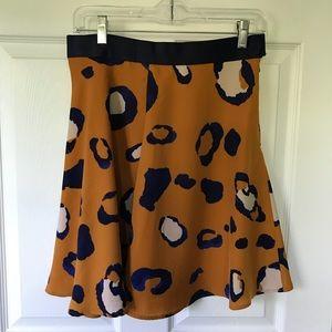 Dresses & Skirts - Leopard print mini skirt